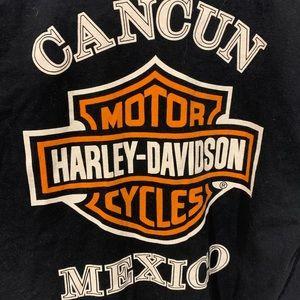 Harley-Davidson Shirts - Harley Davidson Cancun Mexico Biker T-Shirt